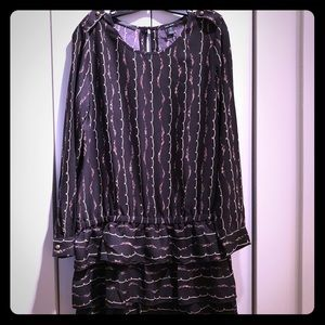 Scotch & Soda drop waist dress